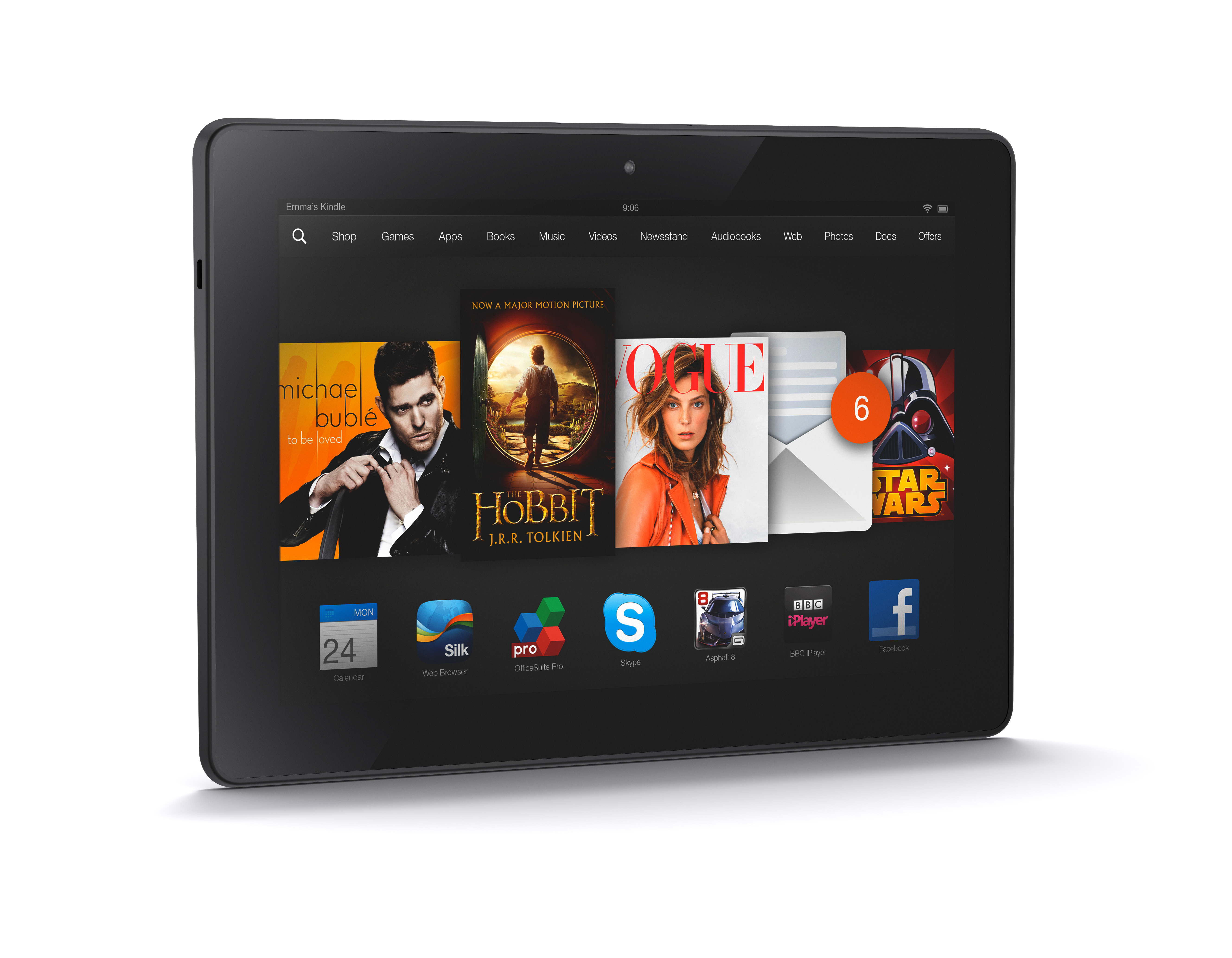 Tablet Amazon Fire HDX 8.9